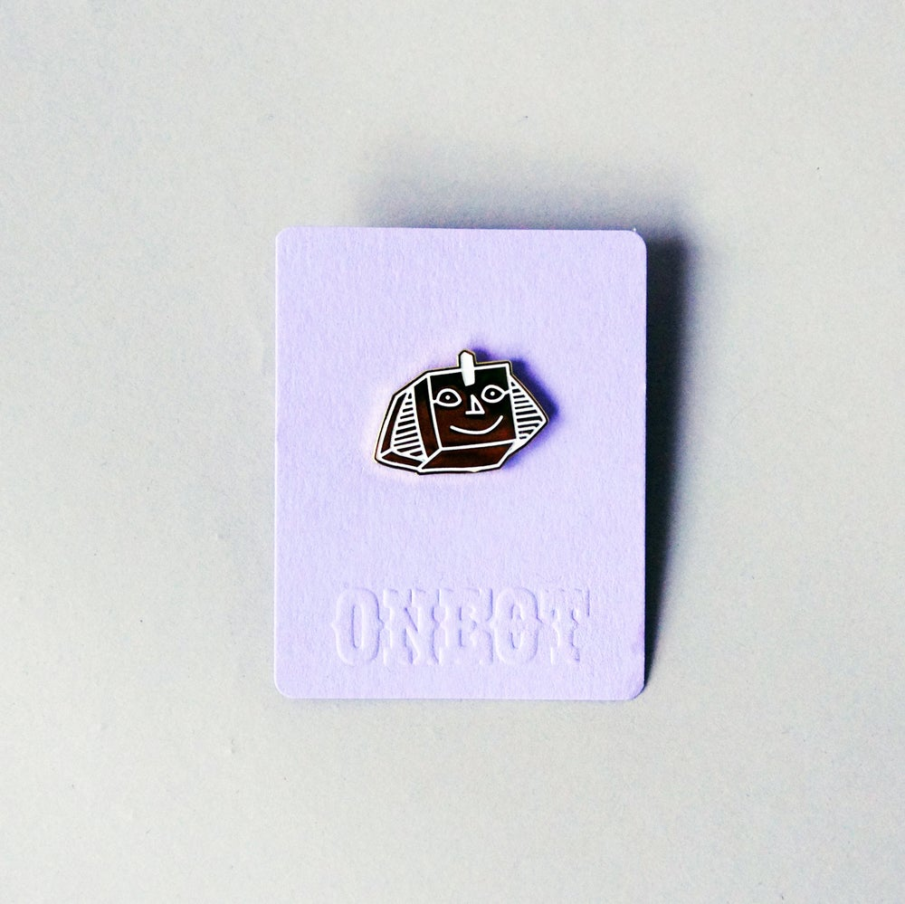 Image of Sphinx Pin Badge