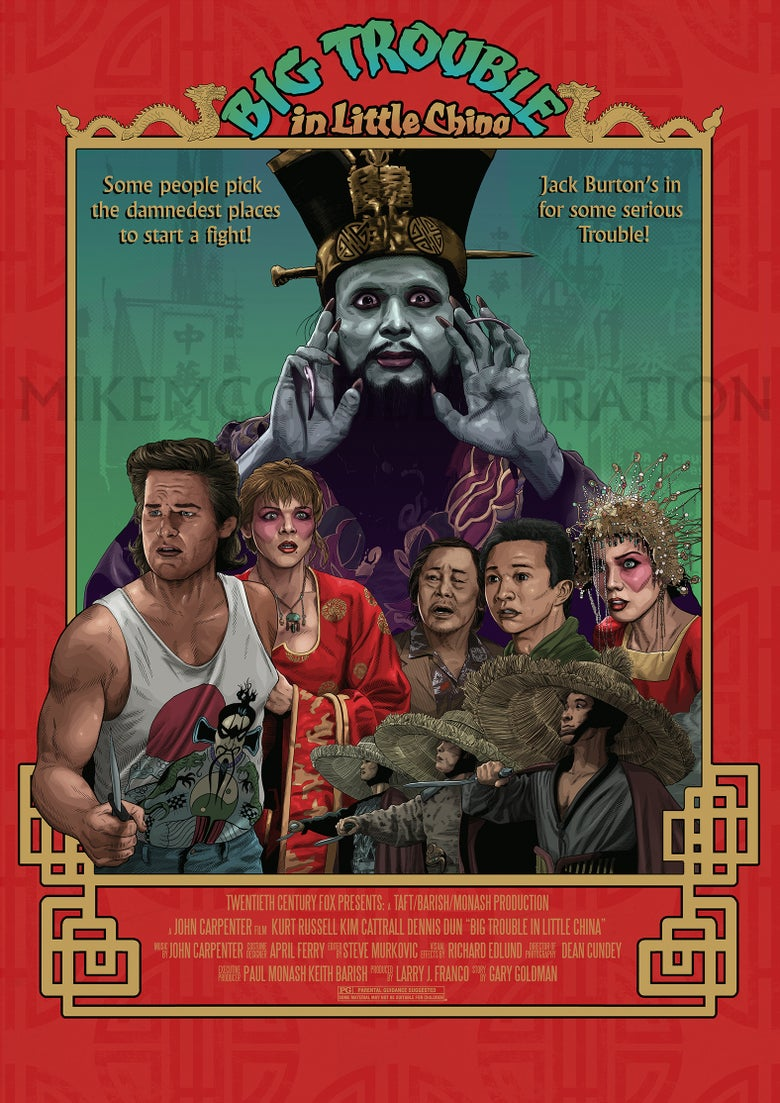 Image of Big Trouble in Little China Print