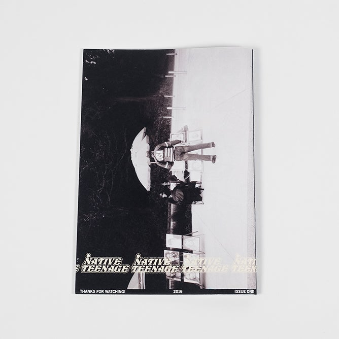 Image of Native Teenage Zine #1