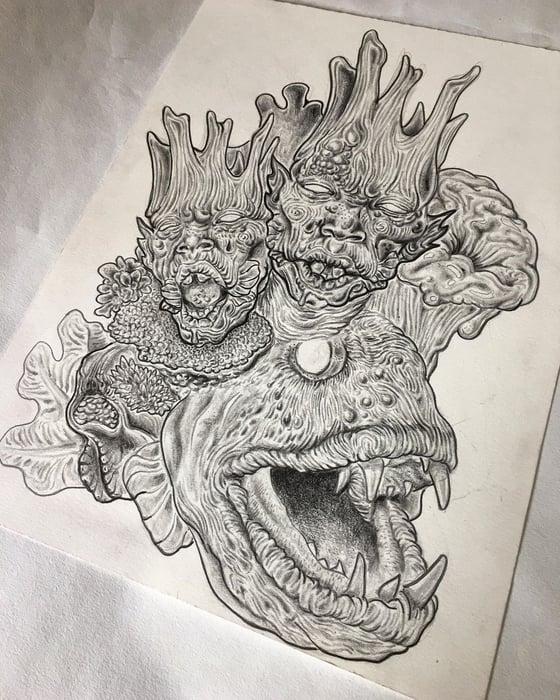 Image of 'Lucid Dreaming 2' Original Illustration