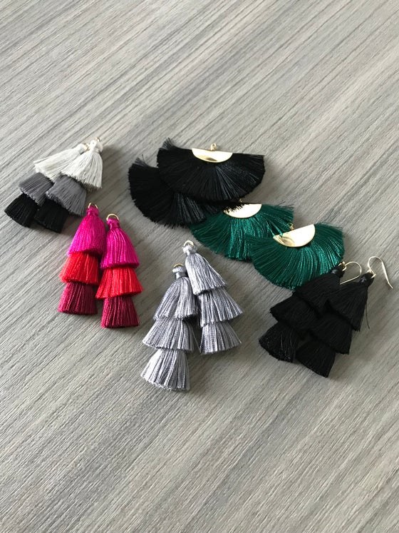 Image of Tassel Earrings