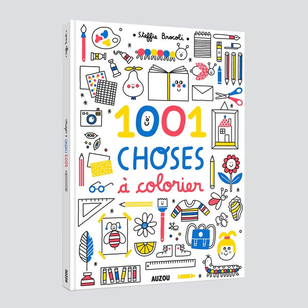 Image of 1001 choses à colorier