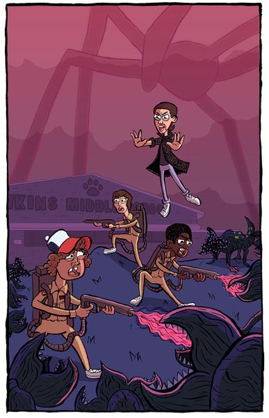 Image of Stranger Things Print