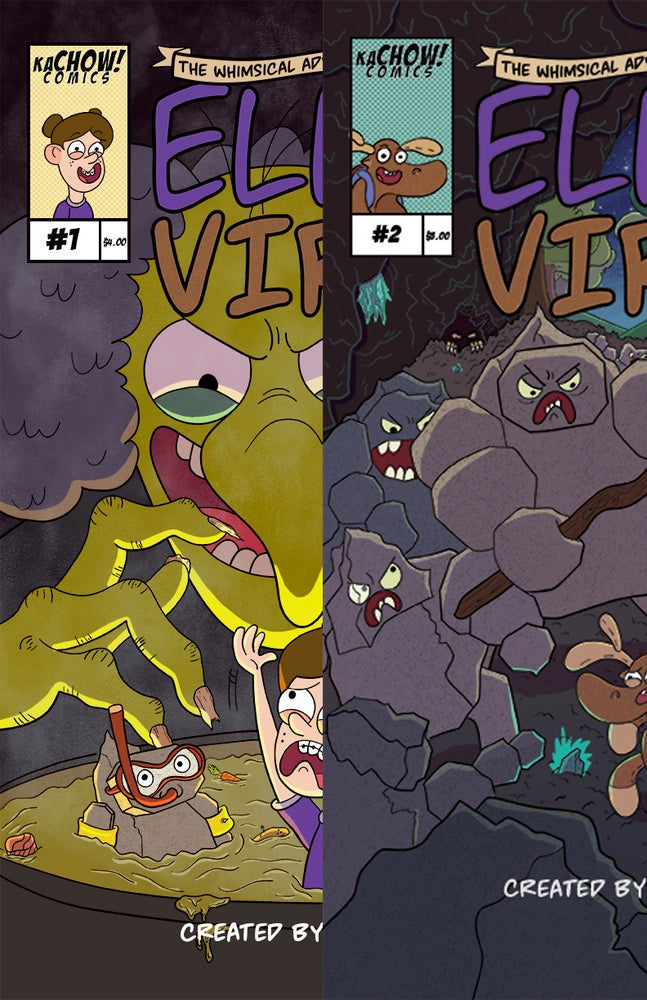 Image of Whimsical Adventures of Ella and Virgil Double pack!