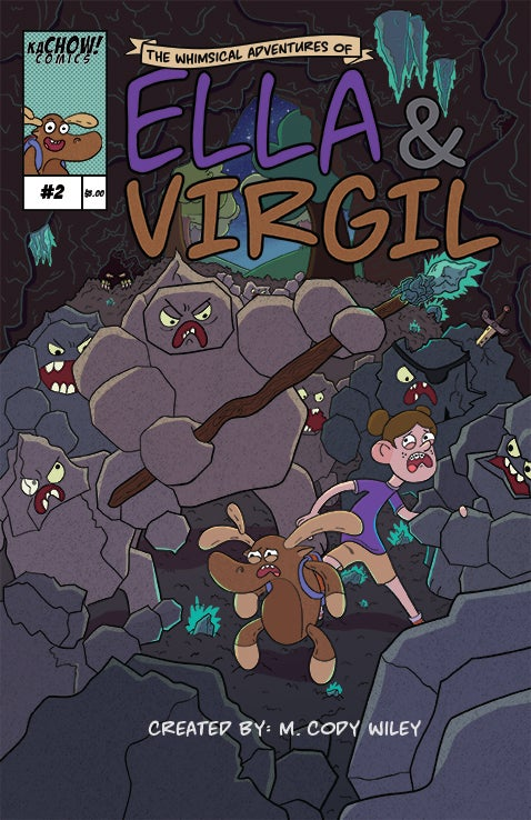 Image of The Whimsical Adventures of Ella and Virgil Issue 2