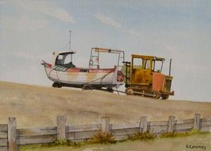 Image of Fishing Boat, Weybourne, Norfolk