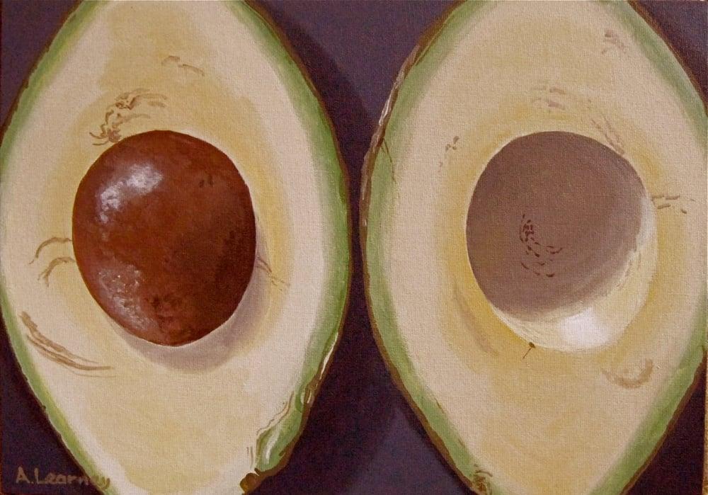 Image of Open Avocado