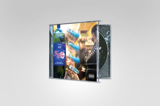 Image of Wundrop & Kemastry - Frosty Raps CD