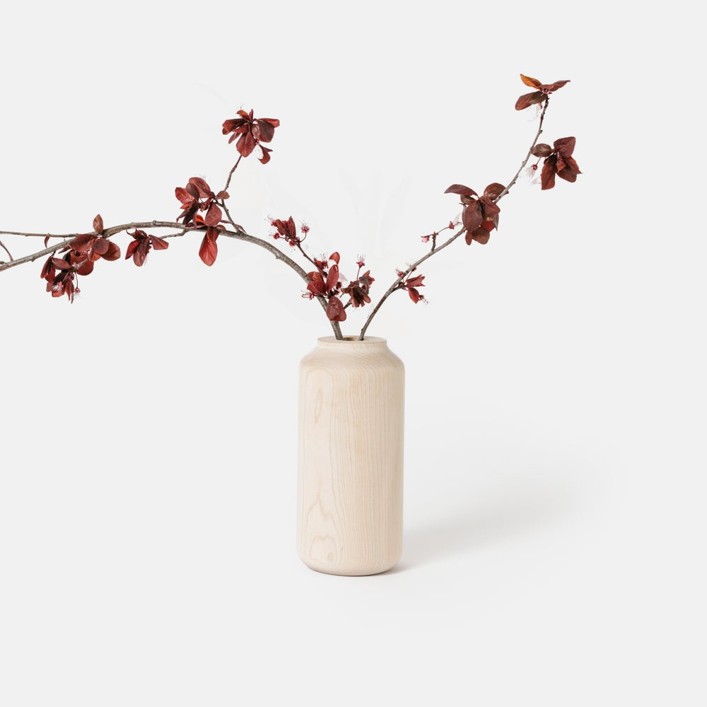 Image of Tall + Wide Maple Vase