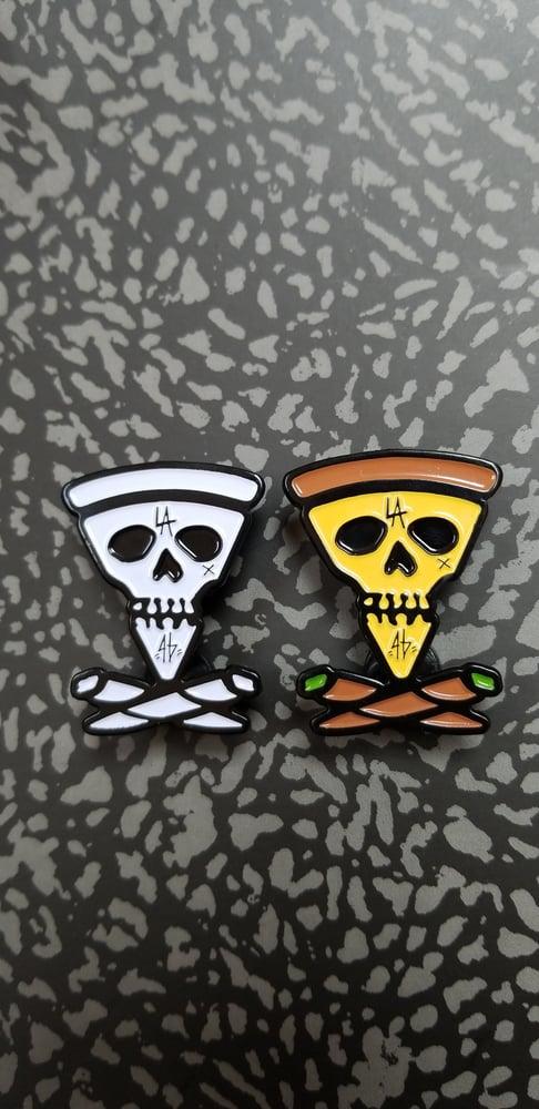 Image of SLICE AND BONES PINS (2 VARIANTS)