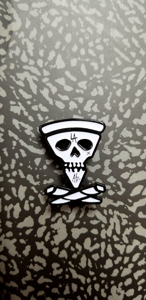 Image of SLICE AND BONES PINS (2 VARIANTS)