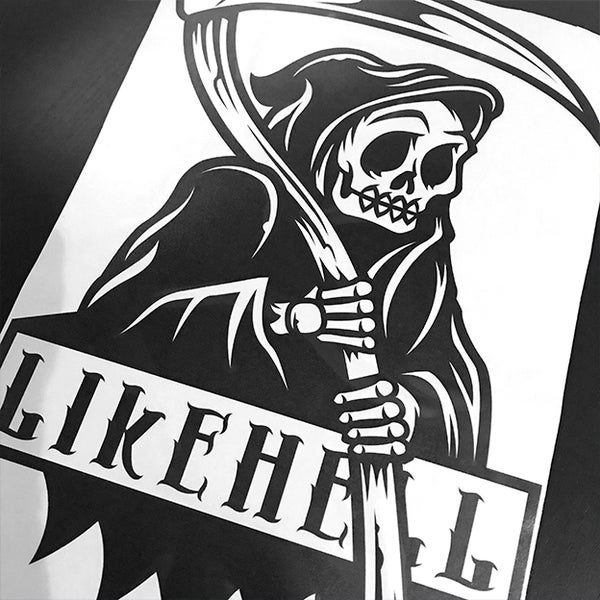 Image of Reaper Large Decal - PRE ORDER