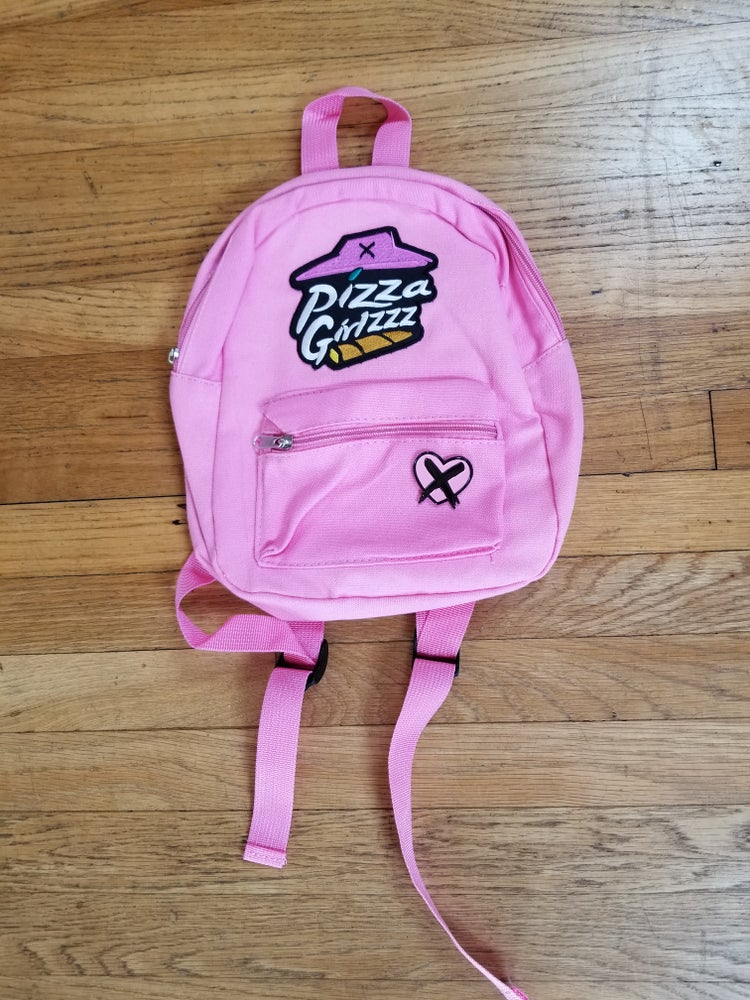 Image of BUTCHOVISION X PIZZAGIRLZZZ MINI BACKPACKS