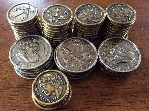 Roll Player Custom Metal Coin Set