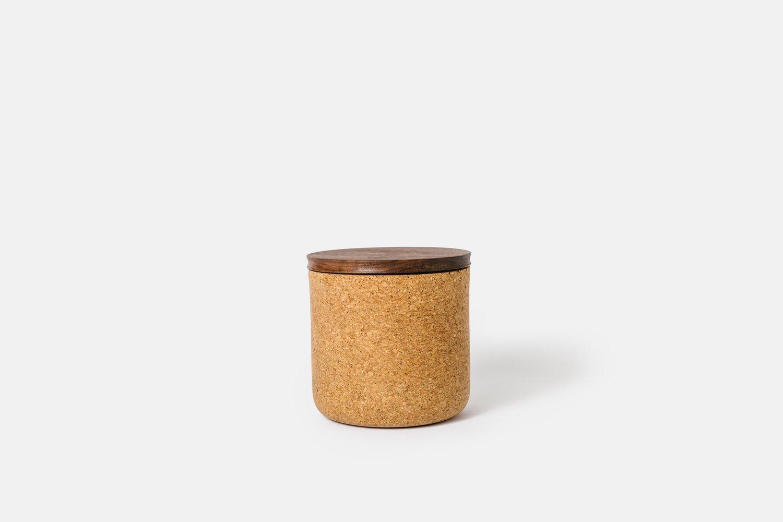 Image of Walnut Tea Canisters
