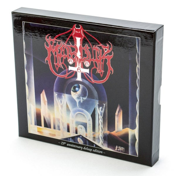 Image of Marduk - 25th anniversary deluxe edition CD box