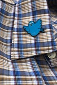 Image of Tubby Bird Enamel Pin