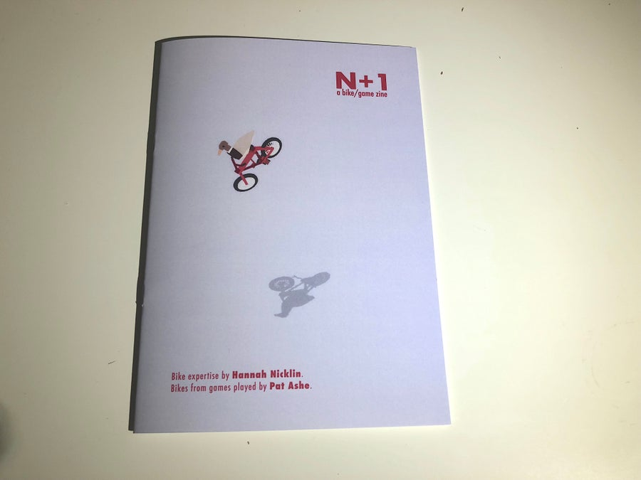 Image of N+1 ~~  a bike/game zine