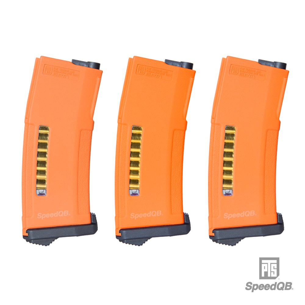 Image of SpeedQB x PTS EPM - Orange (3 Mag Set)