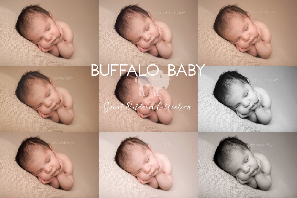 Image of Buffalo Baby - Great Outdoors Finishing Action Set For Photoshop