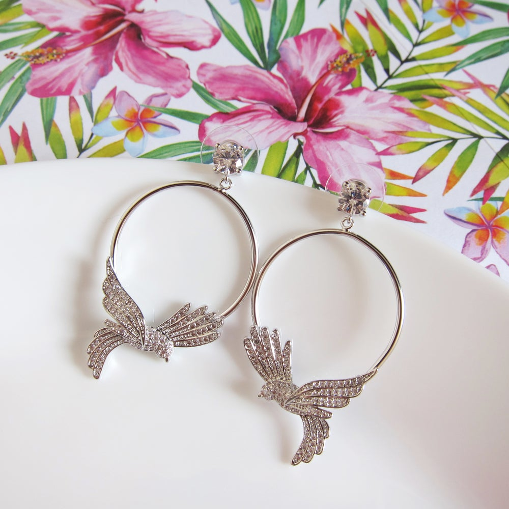 Image of Bird of Paradise earrings
