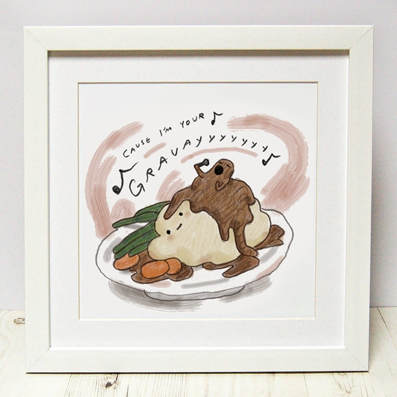 Image of I'm Your Gravy - Print Set of 2