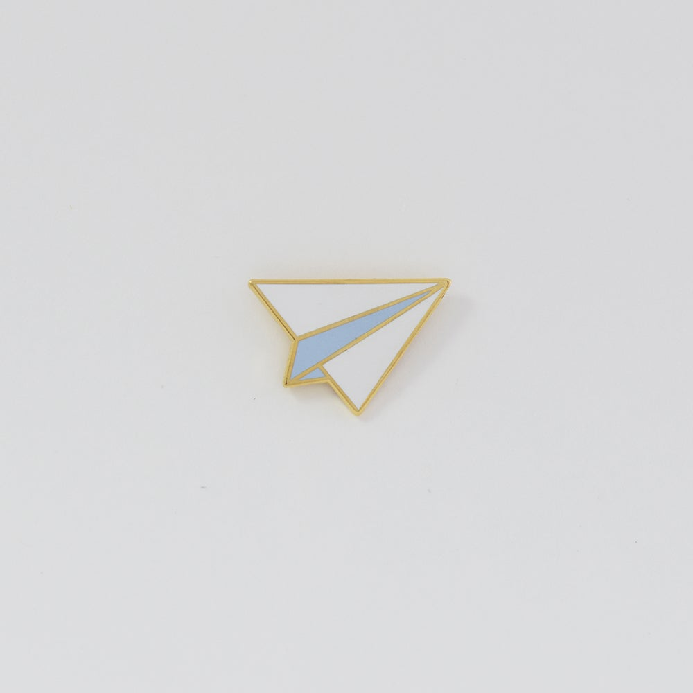 Image of Paper Airplane Pin