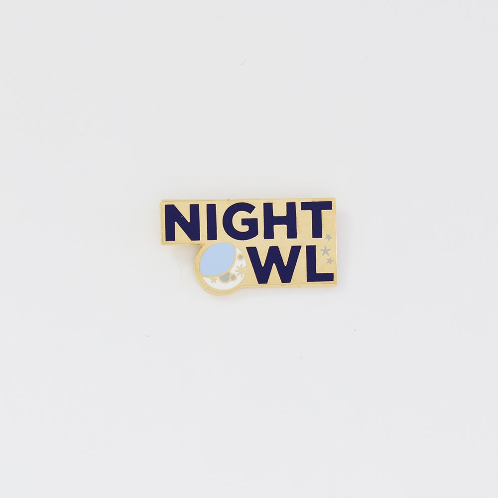 Image of Night Owl Pin