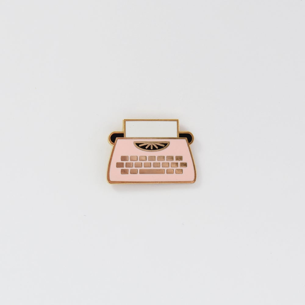 Image of Typewriter Pin