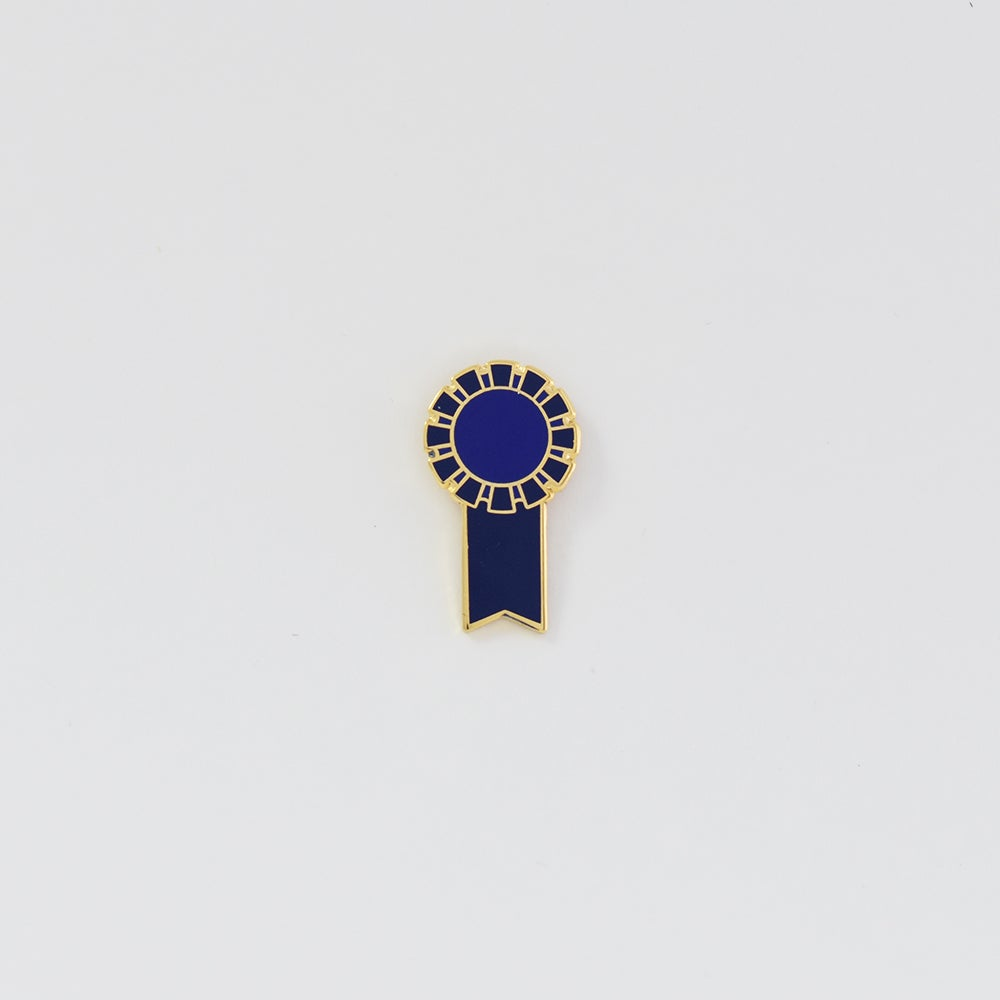 Image of Blue Ribbon Pin