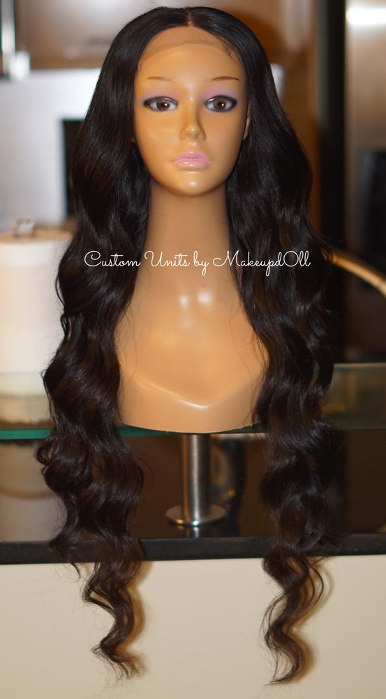 "Image of Brazilian Body Wave 30"" Custom Lace Closure Wig!"