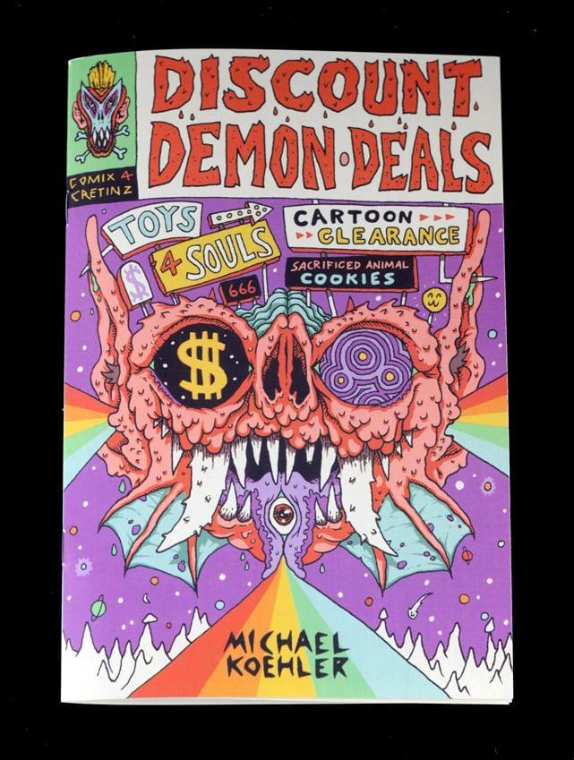 Image of Discount Demon Deals ZINE