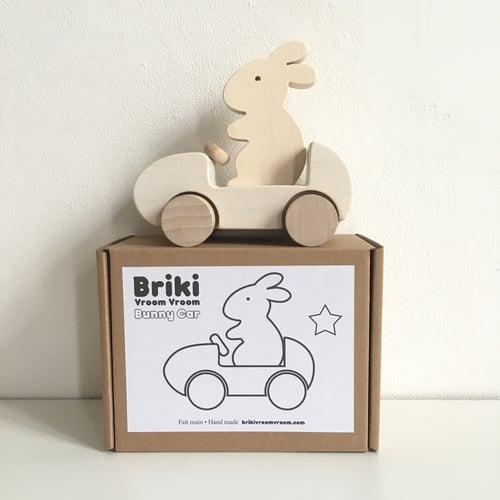 Image of Bunny Car Blanc