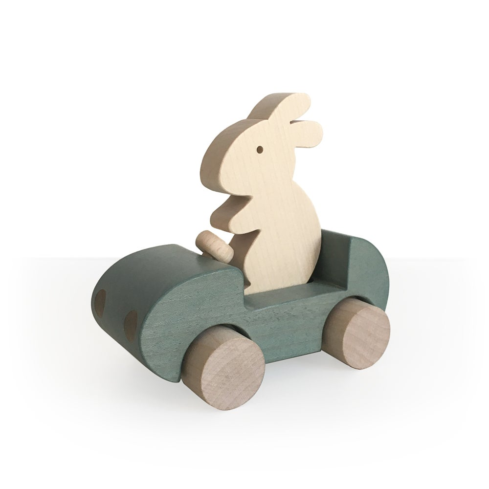 Image of Bunny Car Gris