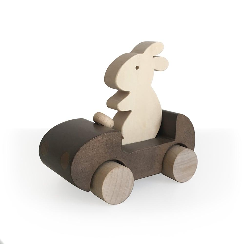Image of Bunny Car Marron