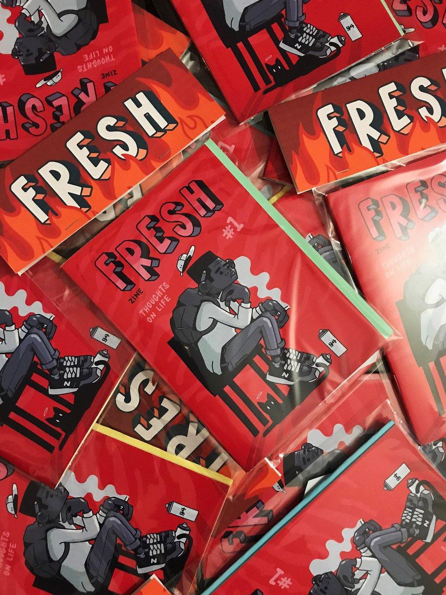 Image of Fresh Zine Issue #1