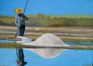 Image of Salt Farmer, Guerande