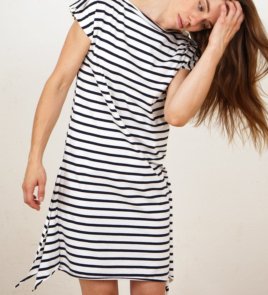 Image of Striped square Dress