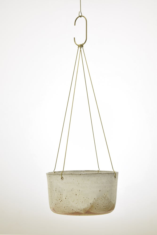 Image of Brass Basket Hanger
