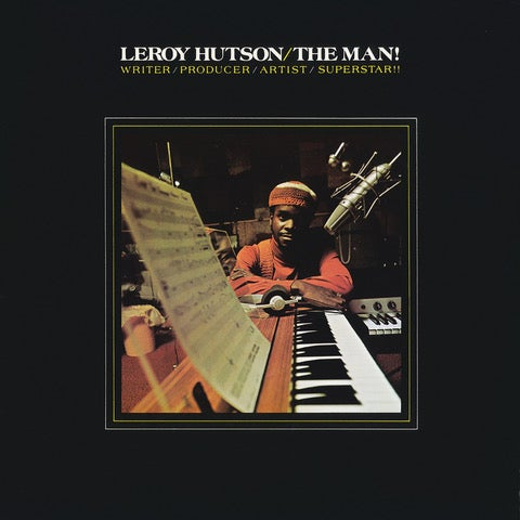 Image of Leroy Hutson - The Man! (LP)