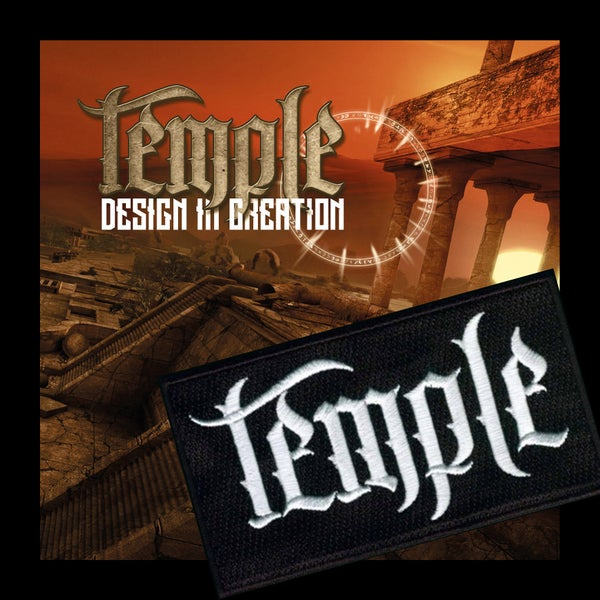 Image of TEMPLE - Design in Creation. CD + PATCH