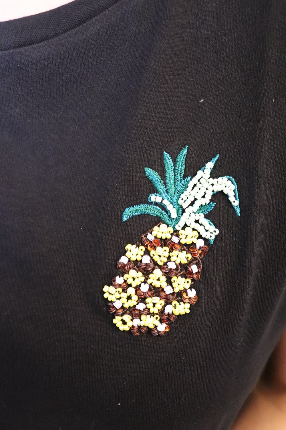 Image of Pineapple Tee Black