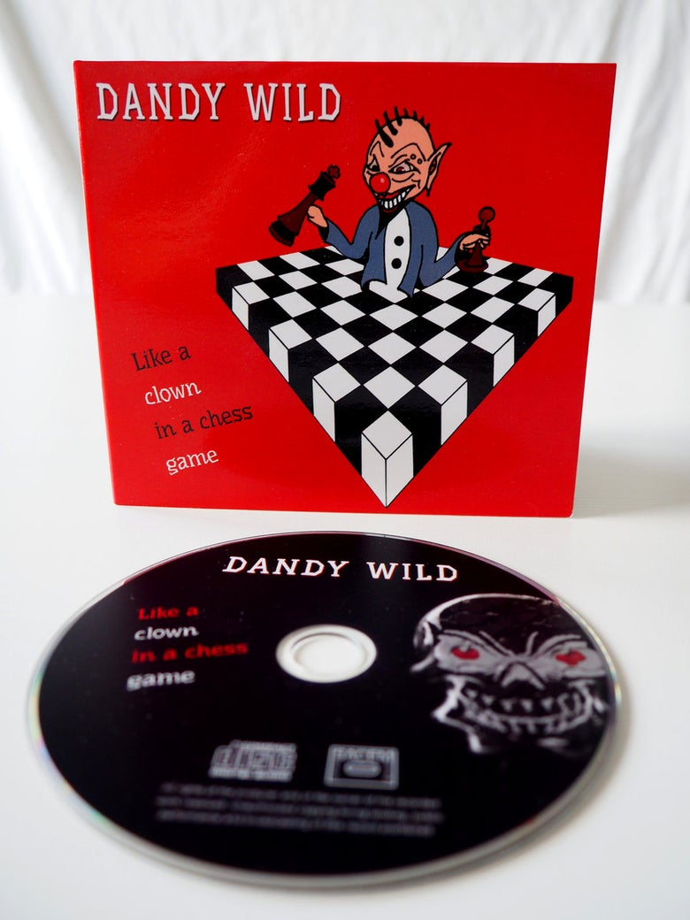 Image of Like a clown in a chess game - CD Digipack