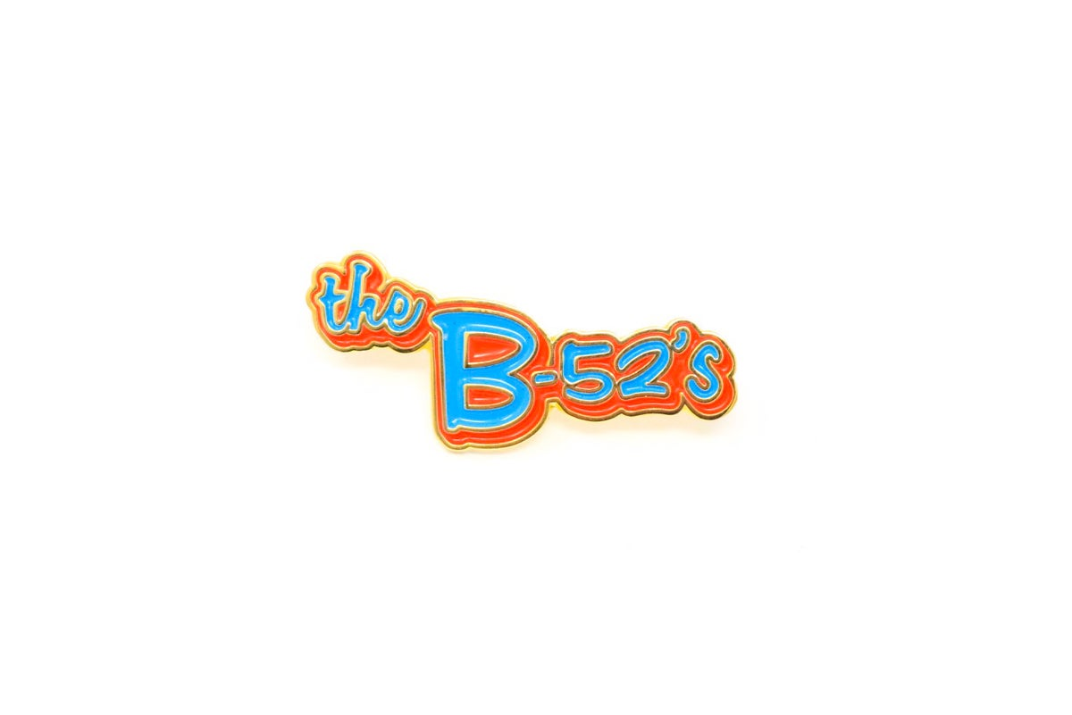 Image of The B-52's Enamel Pin