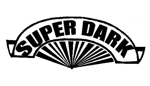 Image of Super Dark Collective Sticker 10 Pack