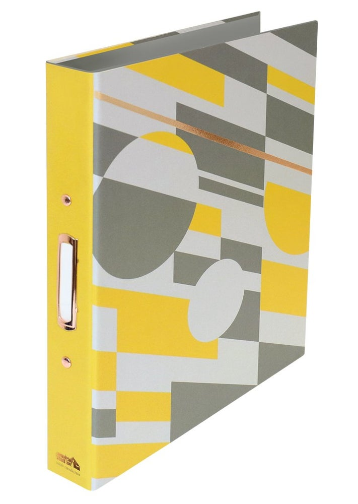 Image of Ringbinder with Dividers - Mustard