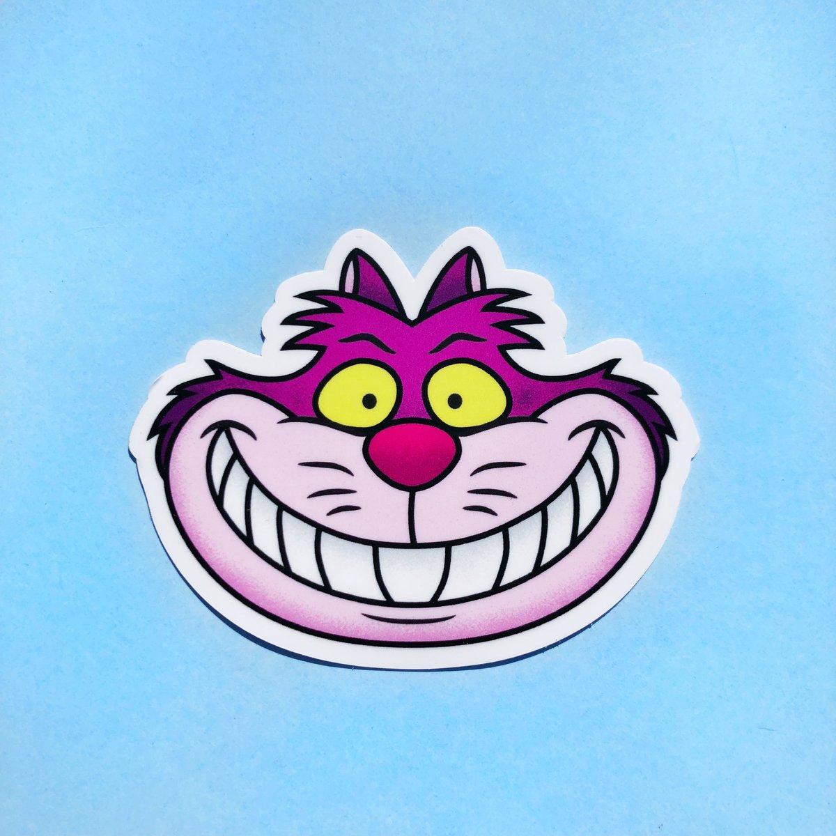 Image of Cheshire Sticker