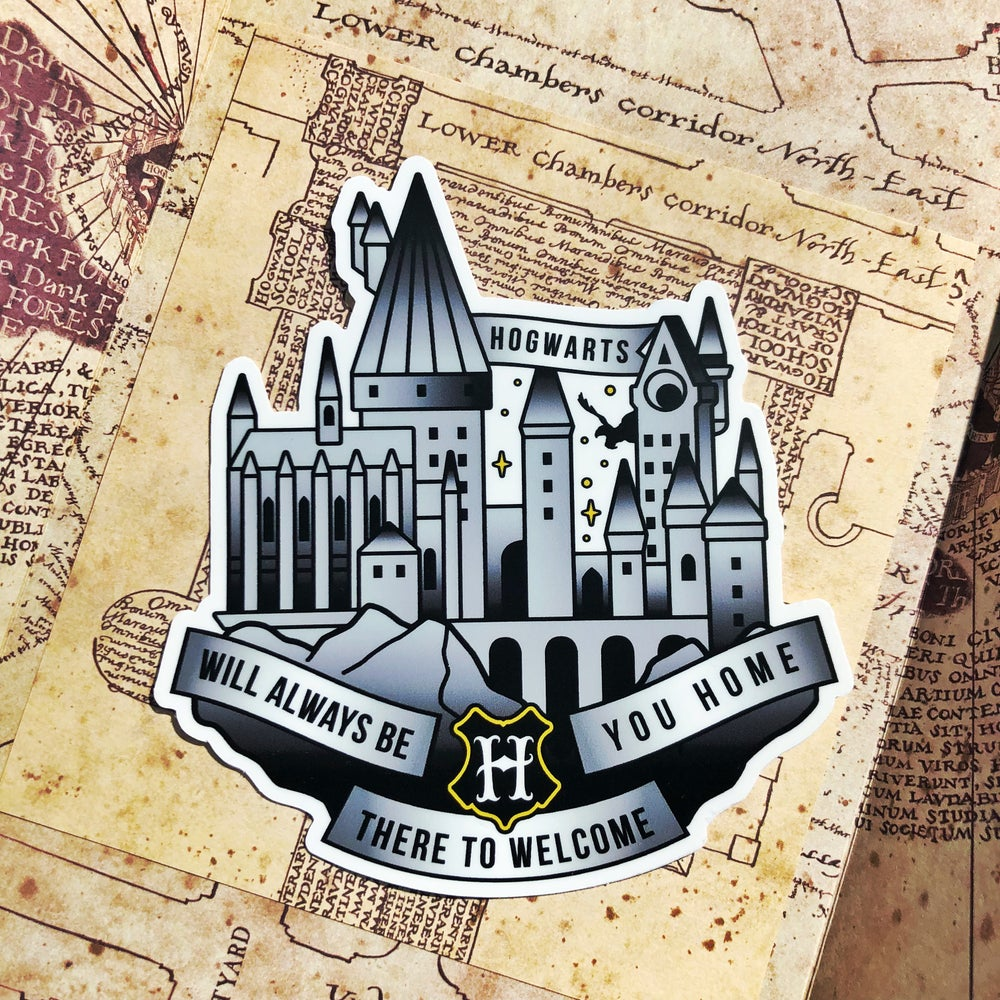 Image of School of Witchcraft and Wizardry Sticker