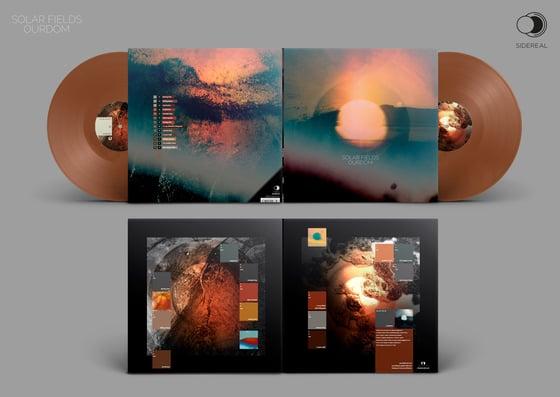 Image of Solar Fields 'Ourdom' Double LP - Bronze Vinyl (preorder)