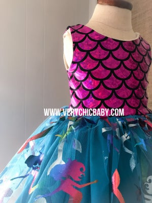 Image of Mermaid Life Dress